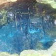 第2展望台から見るコバルトの湧水