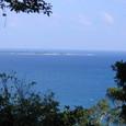 沖縄の海・久高島を望む