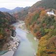 紅葉の美しい多摩川・吉野渓谷