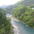 風薫る、新緑の多摩川